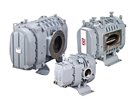 DuroFlow® Industrial Series Positive Displacement Blowers with Vacuum Pump