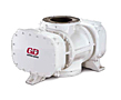 39 1/2 Inch (in) Length CycloBlower® Industrial Series Positive Displacement Blower with Vacuum Pump